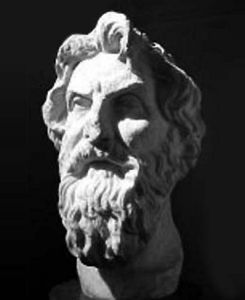 [picture of bust of Aristarchus of Samos]