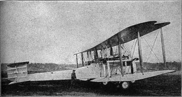 The first aeroplane to fly non-stop across the Atlantic Ocean