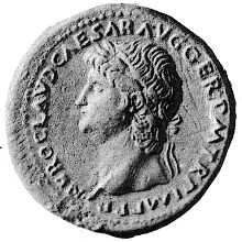 Coin depicting Nero