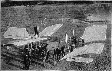 Langley's aeroplane, as refurbished by Glenn Curtiss.